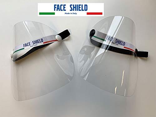Visiera protezione facciale - ripara da spruzzi e schizzi