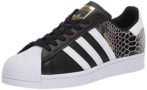 Adidas Originals Legacy Superstar Tenis para Mujer, Multi (Negro/Blanco/Dorado metálico), 36.5 EU