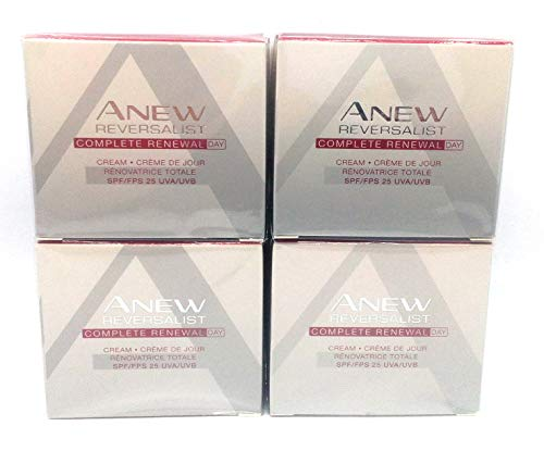 4 x Avon Anew Reversalist Complete Renewal