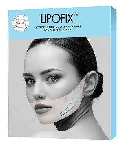 LipoFix - Máscaras de doble capa para reducir la barbilla (7 masks)
