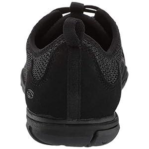 KEEN Women's Hush Knit CNX Hiking Shoe, Black/Raven, 11 M US