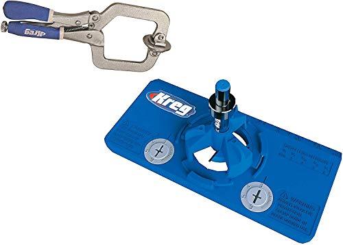Kreg Tool Company kma3210/1//4-Zoll Kreg Regal Pin Jig Bohrer
