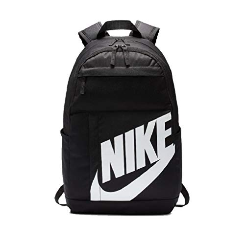 Nike Elemental 2.0 Rucksack Backpack (Black/White, one Size)