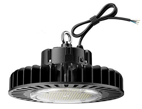 ETL Certified 200W LED High Bay UFO Light, Replacement for 800W HID/Hps, 5000K Daylight White, LED Warehouse Lighting with 45 inch Cord