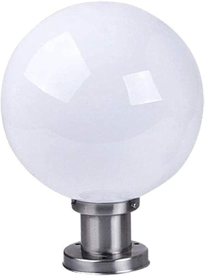El Paso Mall NARUJUBU Post Lantern Light Rainproof Trad Pillar National products Exterior