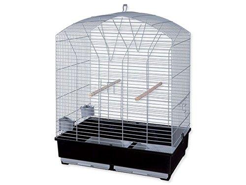 Cage pour inséparables et conures veuves à toit in