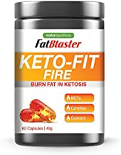FatBlaster Keto-Fit Fire MCT 60 Capsules Estimated Price : £ 18,99