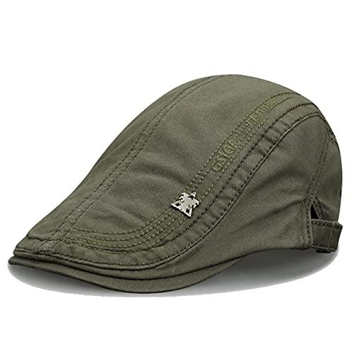 KeepSa Algodón Casquillo Plano Sombreros Newsboy Gorras - Stile Vintage Gatsby Hat Ivy Irish Cap para Hombres y Mujeres