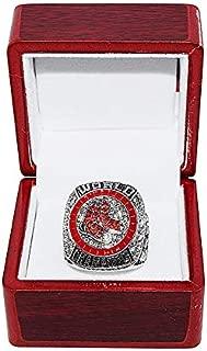 BOSTON RED SOX (Steve Pearce) 2018 WORLD SERIES CHAMPIONS (MVP Award Winner) Rare Collectible High-Quality Replica Baseball Championship Ring with Cherrywood Display Box