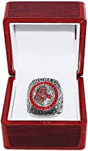 BOSTON RED SOX (Mookie Betts) 2018 WORLD SERIES CHAMPIONS (Victory Vs. Dodgers) Rare Collectible High-Quality Replica Baseball Championship Ring with Cherrywood Display Box