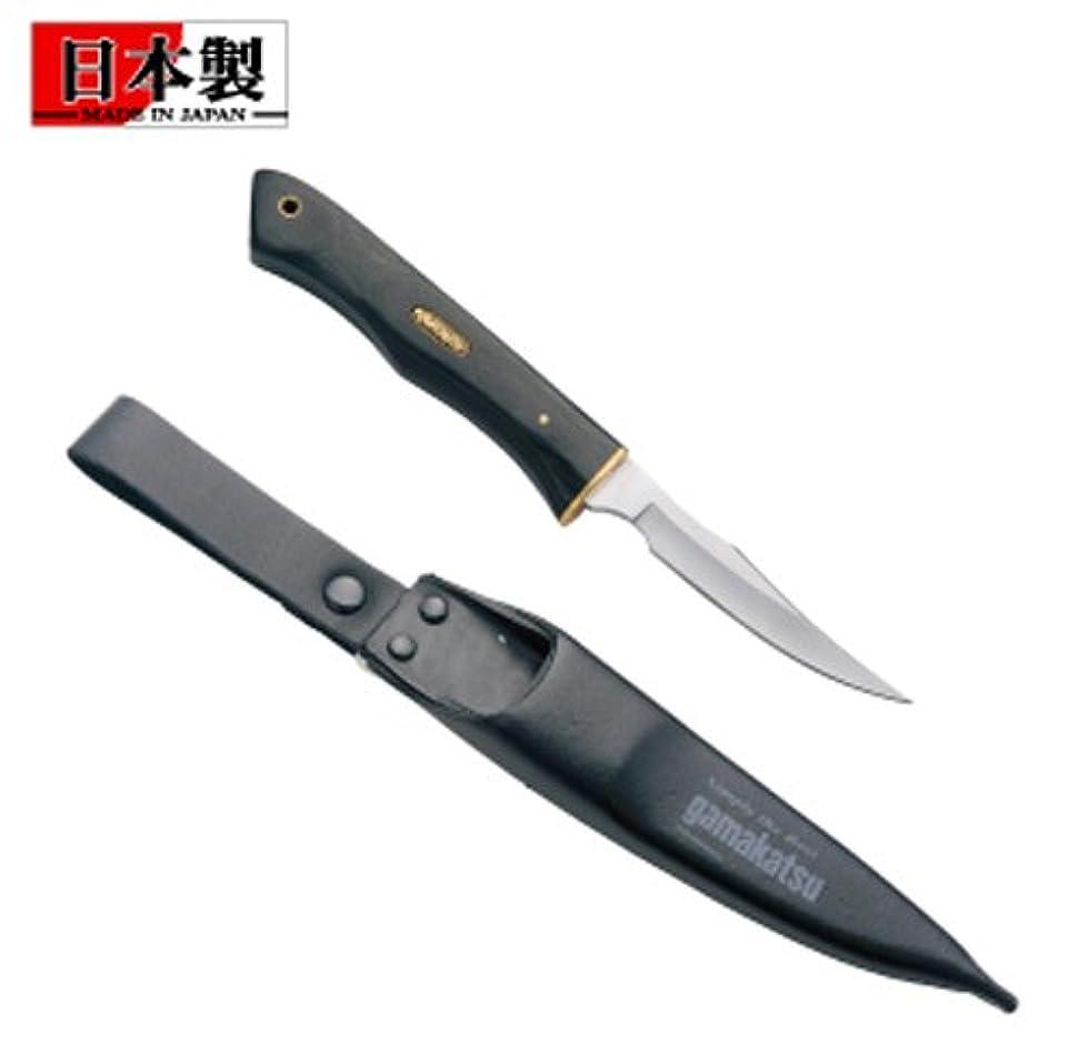 ラベ遅滞賞賛がまかつ(Gamakatsu) ナイフ フィッシングナイフ 440ステンレス GM2037