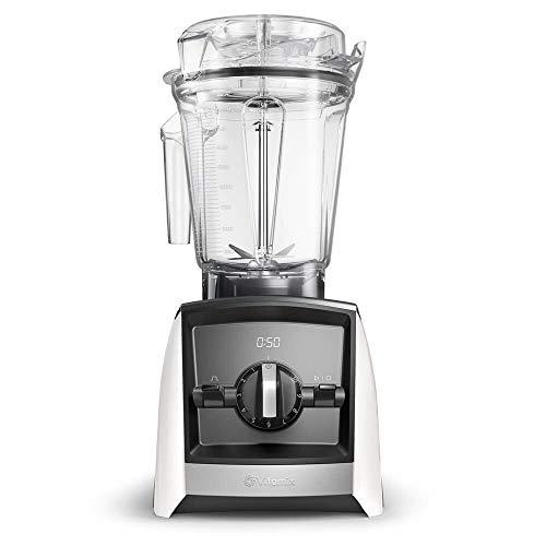Vitamix Ascent 2300i Batidora vaso, 1400 W, 2 litros, Libre BPA, Blanco