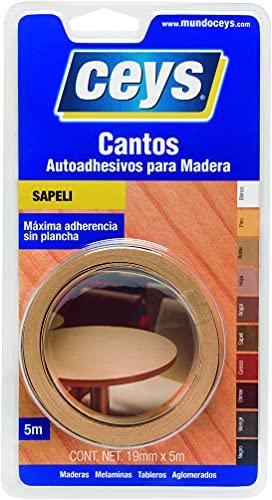 Ceys 850402 - Canto melamin 5 m. sapelli