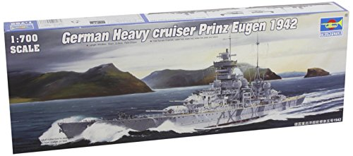 Trumpeter 05766 Modellbausatz German cruiser Prinz Eugen 1942