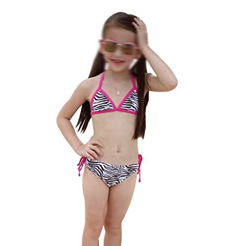 GCX- Filles Maillots de Bain Fille Fille de Split Little Princess bébé Kid Maillot de Bain Femme La Mode (Size : 85~95cm)