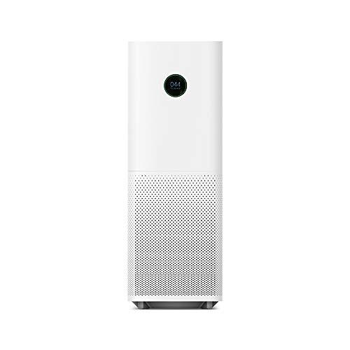Xiaomi Mi Air Purifier Pro EU version - Purificador de aire, conexión WiFi y pantalla display, para estancias hasta 60m2, 500m3/h, Blanco, 31 x 31.3 x 79.8 cm