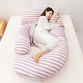 ZSEFV Full Body Support Pillow Total Body Pregnancy Wrap Around Ultra Supportive Sleeping Pillow for Back Belly Hips Legs (Color : C)