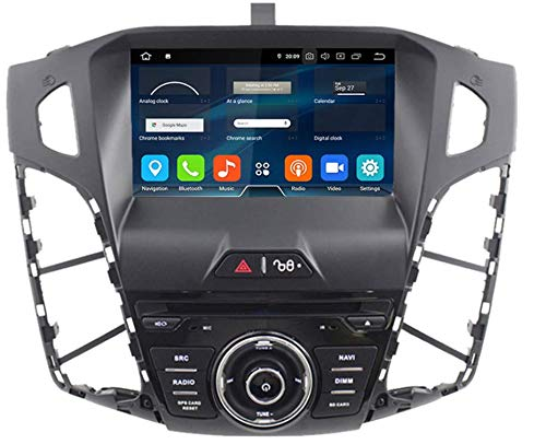 Sunshine Fly 8 Zoll Android 8.0 Quad core 1024 * 600 Kapazitiver Touchscreen 2 DIN DVD Navi Autoradio GPS Stereo Für Ford Focus 3 2012 Audio Player Bluetooth FM AM Hotspot WiFi 3G SWC SYNC