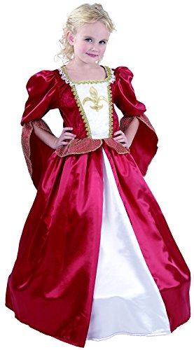 Rire Et Confetti - Fiamou038 - Déguisement pour Enfant - Costume Petite Princesse Mousquetaire Luxe - Fille - Taille S