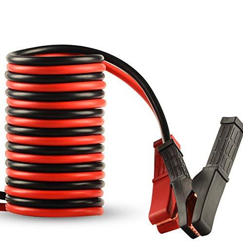 1800A 2000A COPA DE EMERGENCIA DE EMERGENCIA CABLE CABLE CABLE PASEJO DE CABLE 300 CM 400CM APRENDIENTE AUTOMÁTICO Empranque con pinza de clip (Color Name : 1800A 4m)
