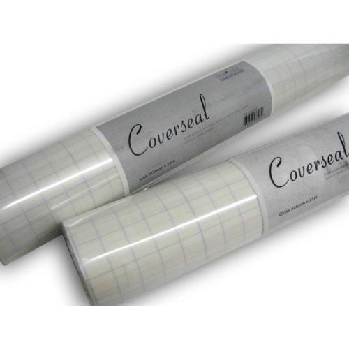 Transparent Frisk 500 mm x 10 m Coverseal Gloss Roll