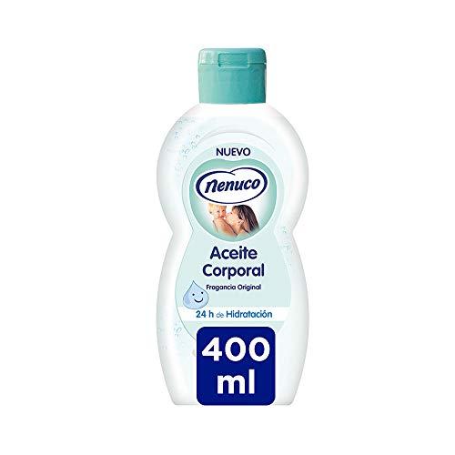 Nenuco Aceite corporal hidratante para bebé fragancia original 400 ml