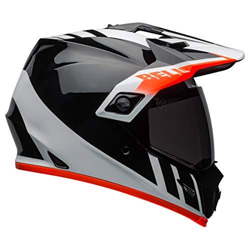 Bell MX-9 Adventure MIPS Dirt Helmet (Dash Gloss Black/White/Orange - XX-Large)