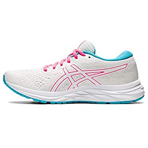 ASICS Women's Gel-Excite 7 Running Shoes, 8.5M, White/Safety Yellow