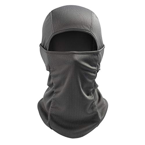 AstroAI Balaclava Face Mask Ski Mask-UV Protection Dustproof Windproof Face Cover for Men Women Skiing, Snowboarding, Cycling Hiking Gray
