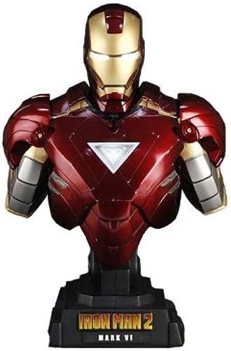 Hot Toys Iron Man 2 1 4 Scale Collectible Bust Iron Man Mark VI