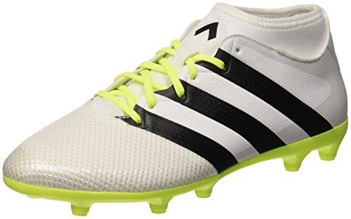 adidas adidas Damen Ace 16.3 Primemesh Fußballschuhe, Weiß (FTWR White/core Black/solar Yellow), 40 EU