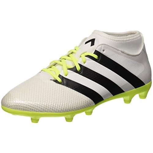 adidas Ace 16.3 Primemesh, Scarpe da Calcio Donna, Bianco (Ftwr White/Core Black/Solar Yellow), 38 EU