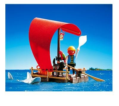 PLAYMOBIL®- Pirat/Floß/Hai (Art. 3736)