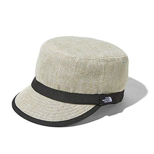 [ザ ノースフェイス] Kids' HIKE Cap ハイクキャップ NNJ01811 麦わら帽子 ワークキャップ (キッズ) (KM, Beige(BE))