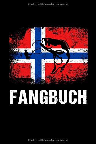 Fangbuch: A5 Logbuch mit Tabellen für Angler und Anglerinnen I Angel Log für Norwegen Angel Sessions I Tagebuch für Fischer I Notizbuch für Angelkumpel