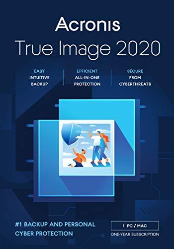 Acronis True Image 2020, Datensicherung-Software, englisch, für 1 PC