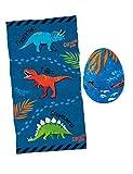Moses 40214 - Toalla mágica, diseño de Huevo de Dinosaurio, 100% algodón,...