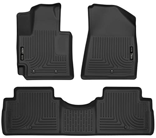 Husky Liners 99611 Fits 2014-19 Kia Soul Weatherbeater Front & 2nd...