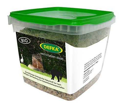 DEFKA 0,5 kg Zuverlässiger biologischer Naturstoff zur nachhaltigen Vermeidung von Katzenhinterlassenschaften - Katzenabwehr - Katzenschreck, ungekürzte Weitergabe der MwSt-Reduktion