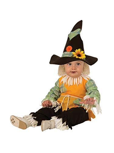 Rubie's Kid's Opus Collection Lil Cuties Scarecrow Costume Baby Costume, As Shown, Toddler