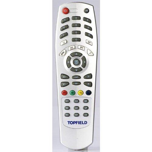 Topfield TF 4000/5000/6000 Serie Fernbedienung Original-Fernbedienung für TF4000FE, TF4000T, TF5050CI, 6000FE, 6000T, 6060CI und 6400IR Receiver