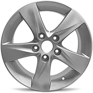 Road Ready Car Wheel For 2011-2013 Hyundai Elantra 16 Inch 5 Lug Silver Aluminum Rim Fits R16 Tire - Exact OEM Replacement - Full-Size Spare