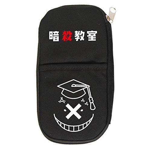 Niña Niño Assassination Classroom Grande Ampliable Estuches Lapices Para Juveniles Material Pencil Case Cremalleras