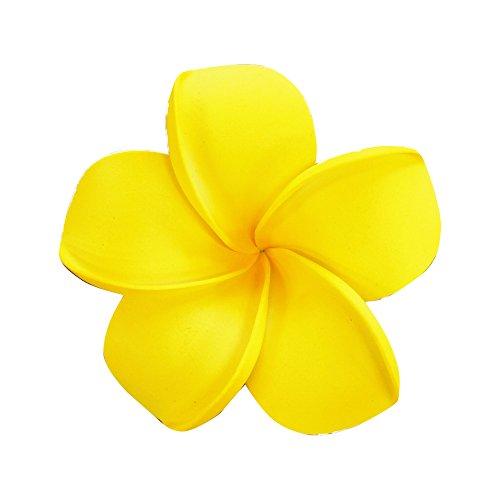 造花 花のみ 花びら インテリア プルメリア [Lサイズ/レッド] 小さい オブジェ 花飾り アジアン雑貨 バリ雑貨 南国リゾート ハワイアン フラワーアート 大量まとめ買い可