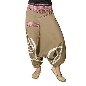virblatt Pantalones Bombacho Mujer Yoga cagados como pantalón Chandal árabe - Besonders | DeHippies.com