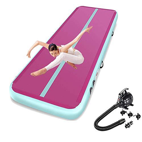 Broccoli Gimnasia Inflable Air Track Tumbling Mat Yoga Cheerleading Taekwondo Esteras De...