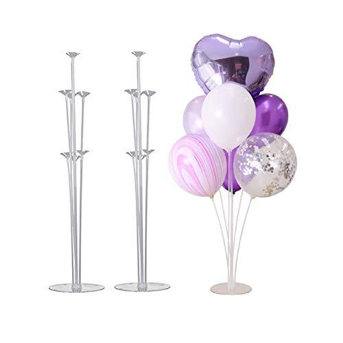 Coriver Arbre de ballon, kit de support de ballon de table d
