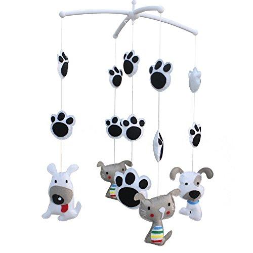 [Lovely Cat and Dog] Mobilier décoratif pour chambre bébé/Berceau