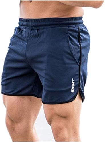 Pantalones Cortos De Moda De Verano para Hombres Gimnasio Delgado para Correr Atletas Sudor Estilo De Playa Ropa De Playa SóLido Casual Longitud De Rodilla Gimnasio CordóN con Bolsillo
