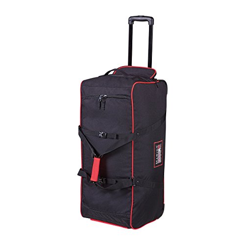 Marinepool SE Classic Wheeled Bag Segel-Rollentasche 110l schwarz